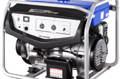 Genset Inverter Kapasitas Daya Besar Dari Yamaha